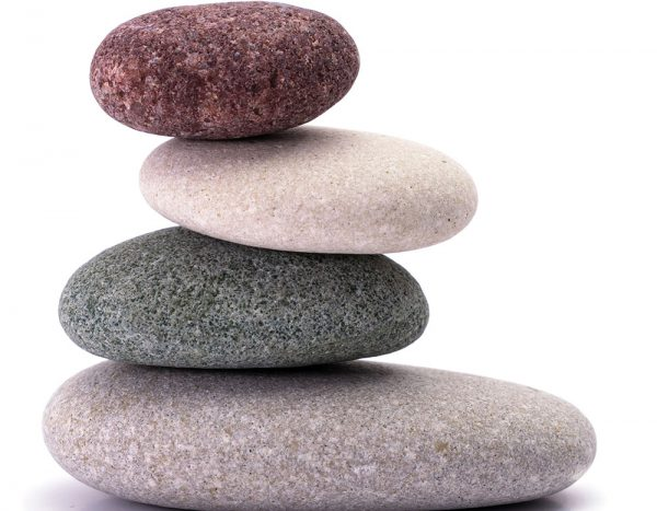 Image of a zen like stack of rocks.